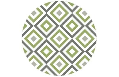 Square living - Diamant Tapete grün angepasst an Ikea 114   Green Smoke 47