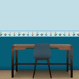 extravagante tapeten und bordüren mit figuren von gmm - Bordure Kinderzimmer Maritim