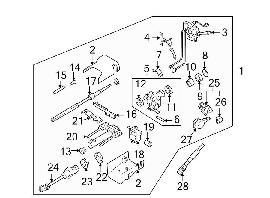 2009 hyundai sonata Motor diagram
