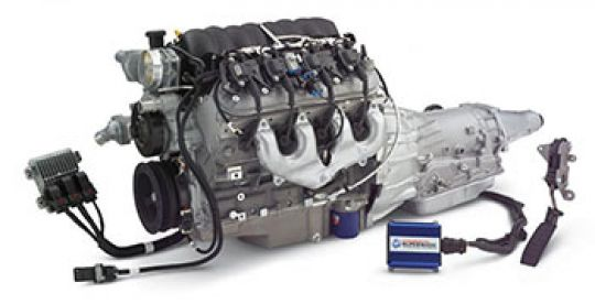 LS3 430HP Connect  Cruise Crate Powertrain System W/ 4L65-E GM