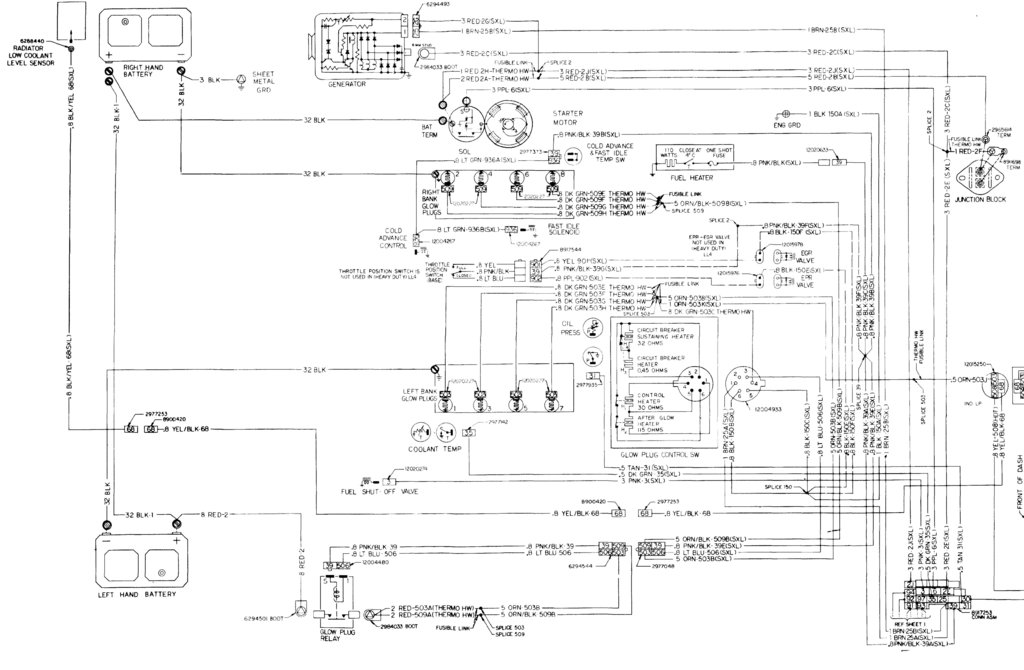 chevy 6 5 wiring diagram