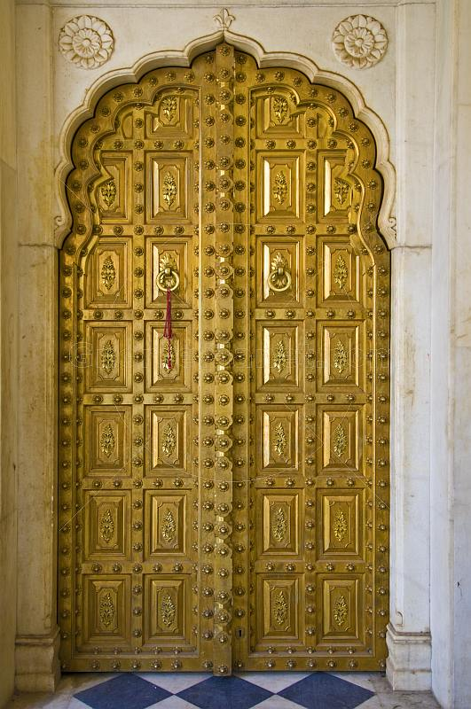 Free Country Fall Wallpaper Royalty Free Stock Photograph A Gold Plated Door In The
