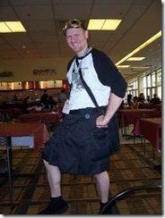 Ahhh! The white legs of Ohio!