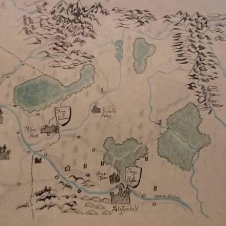 Troy's Crock Pot: 10 Steps To A DIY Map, Part 4