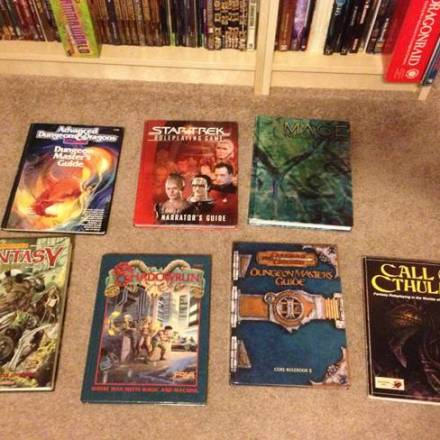 The 7 RPGs You've GMed the Most, and the 7 RPGs You've Played the Most