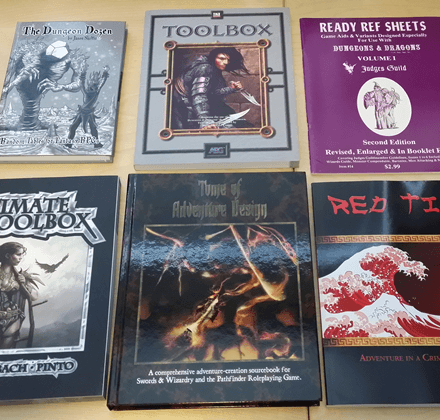 Some of My Favorite Books of Random Fantasy Tables