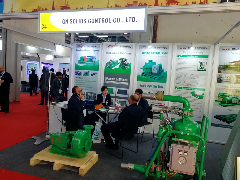 GN Solids Control Participated in Petrotech India Oil Show news