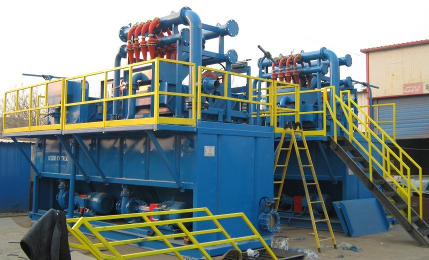 GN400 GPM Mud Solids Removal Unit to CPP - GN Solids Control