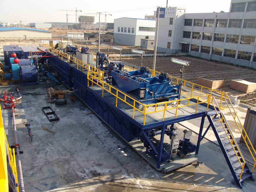 Solids control system for 40 drilling rig exported to Turkey - GN