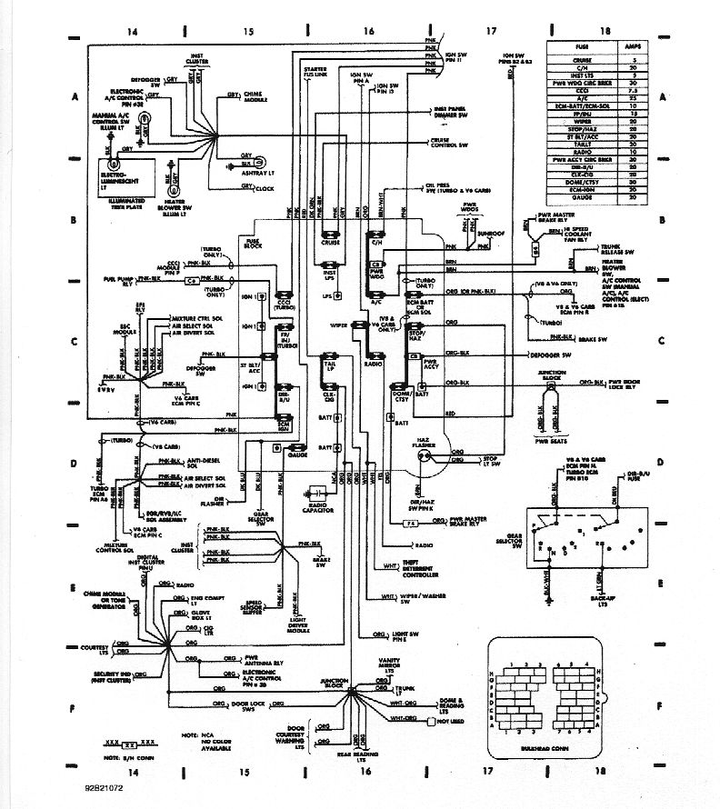 Buick Grand National Wiring Diagram online wiring diagram