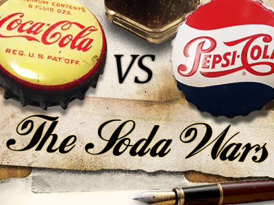 Soda war – Coca Cola vs. Pepsi