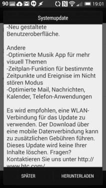 HTC One M7 Sense 6 Update