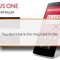 Wie bekommt man ein OnePlus One Invite