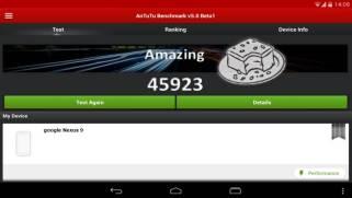 Nexus 9 in AnTuTu 5