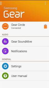 Samsung Gear Manager