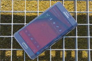 Samsung Galaxy Note Edge Test