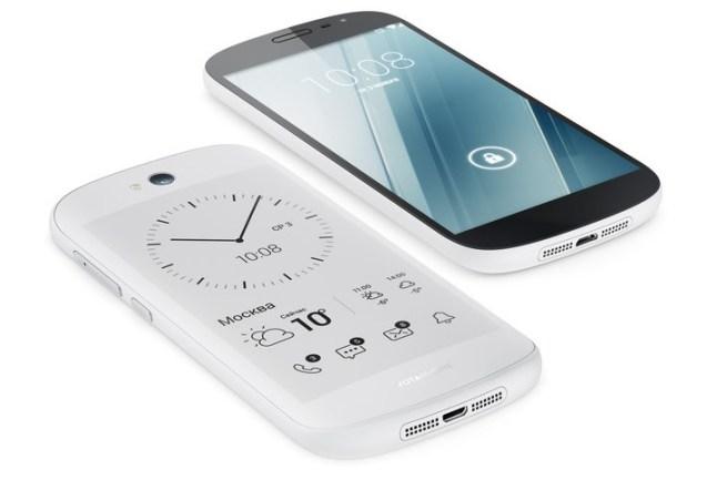 YotaPhone 2 in Weiß
