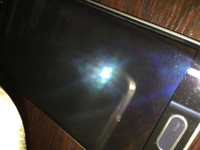 Samsung Galaxy S6 edge mit Display-Kratzern