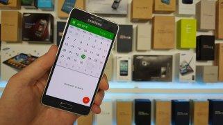Samsung Galaxy Alpha mit Android 5.0 Lollipop