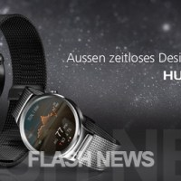 [FLASH NEWS] Huawei Watch für 799 Dollar und mit iPhone Support