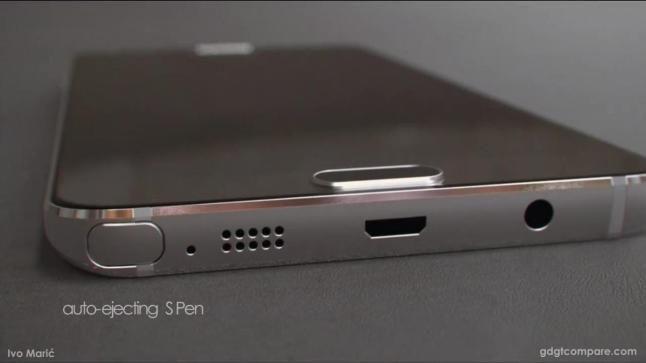 Samsung Galaxy Note 5 Render