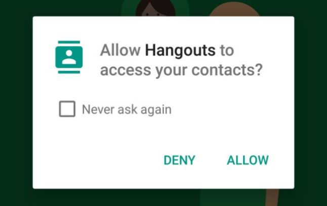 Google Hangouts unter Android 6.0 Marshmallow