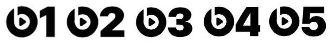 Beats Radio Logos