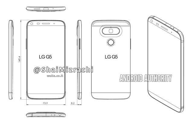 LG G5 Design Leak