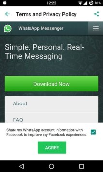 Facebook mischt sich bei WhatsApp ein