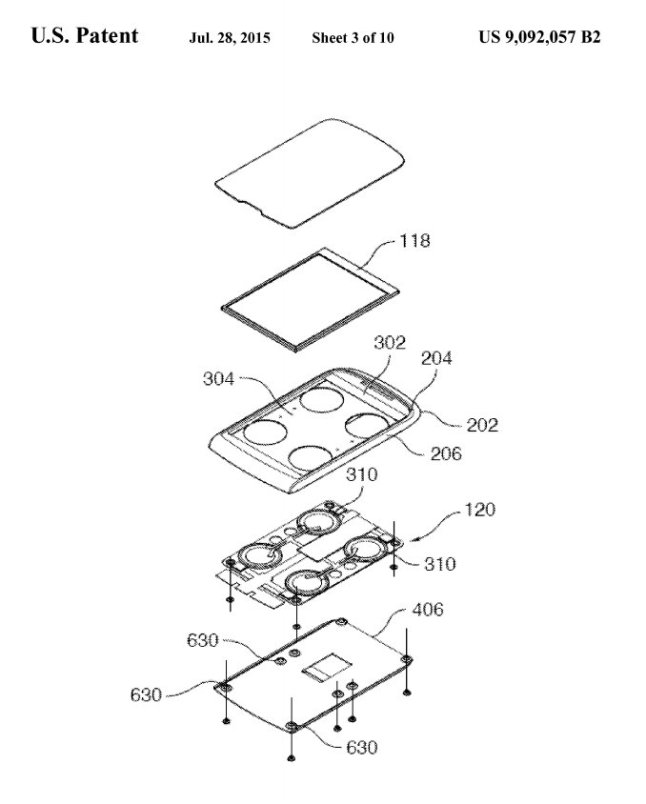 Force Touch Patent zum BlackBerry Storm 9500