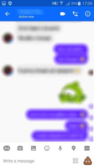 Facebook Messenger Beta