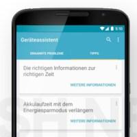 Google stellt die Geräteassistenten App ein