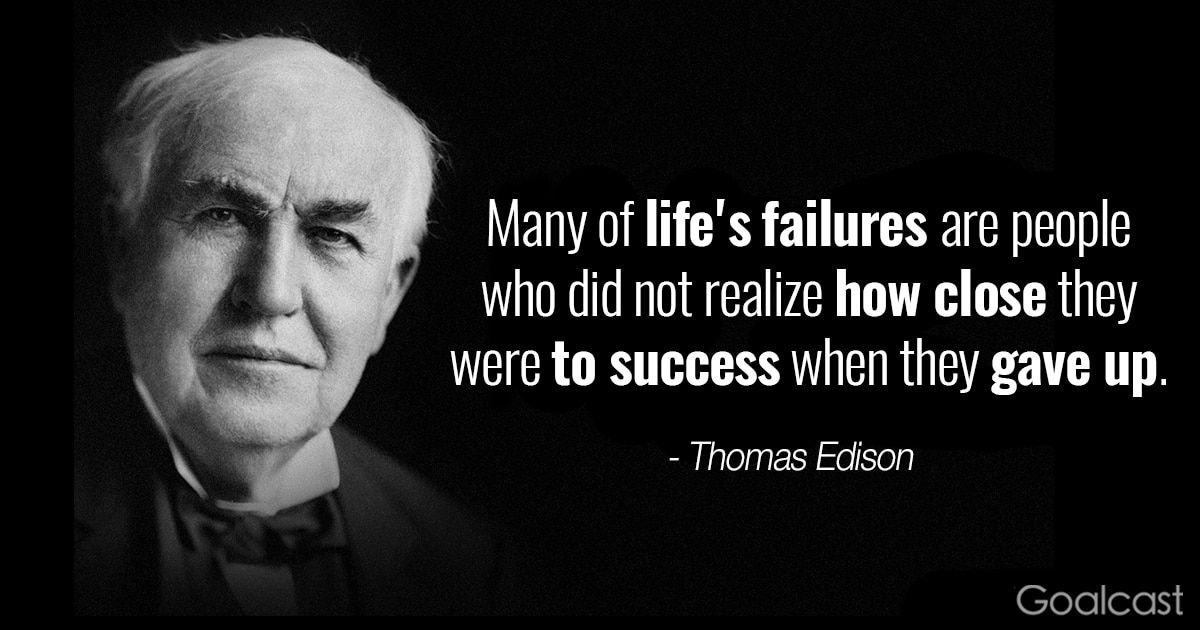 Billionaire Quotes Wallpaper Top 20 Thomas Edison Quotes To Motivate You To Never Quit