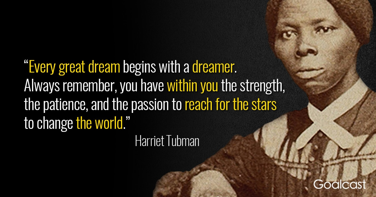 Birthday Wallpaper With Quotes 12 Harriet Tubman Quotes To Help You Find The Leader Within
