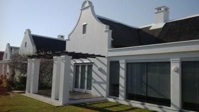 Fancourt - patio and pergola
