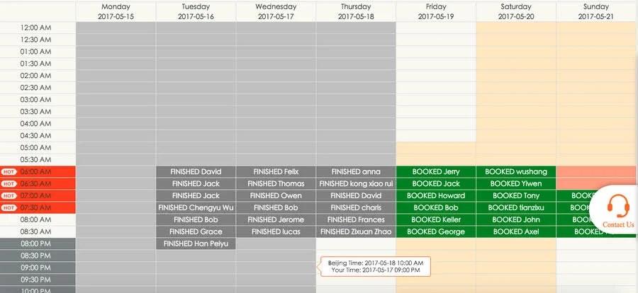 making a schedule online - making schedules online
