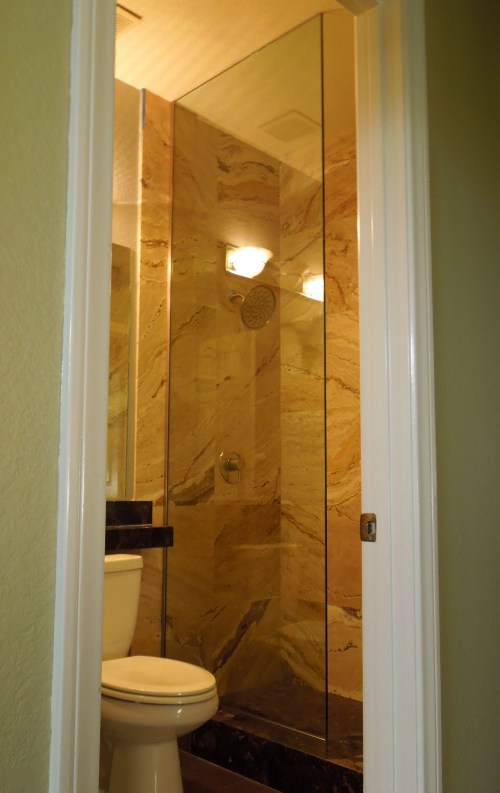 Medium Of Shower Glass Panel