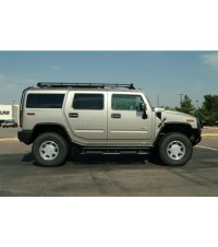 HUMMER H2 8FT. STEALTH RACK  Multi-Light Setup WITH ...