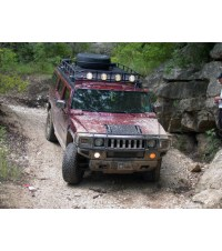 HUMMER H2 8Ft. RANGER WITH TIRE RACK  Multi-Light Setup ...