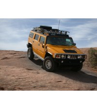 HUMMER H28ft. RANGER WITH TIRE RACK Multi-Light Setup NO ...