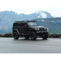 JEEP JKU 4DOOR STEALTH RACK REG. 4 LIGHT SETUP | Gobi Racks