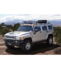 HUMMER H3 RANGER WITH TIRE RACK  Multi-Light Setup WITH ...