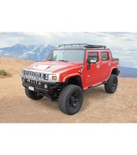 HUMMER SUT STEALTH RACK Multi-Light Setup WITH SUNROOF ...