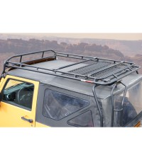 JEEP JK 2DOOR  RANGER RACK Multi-Light Setup - Gobi Racks