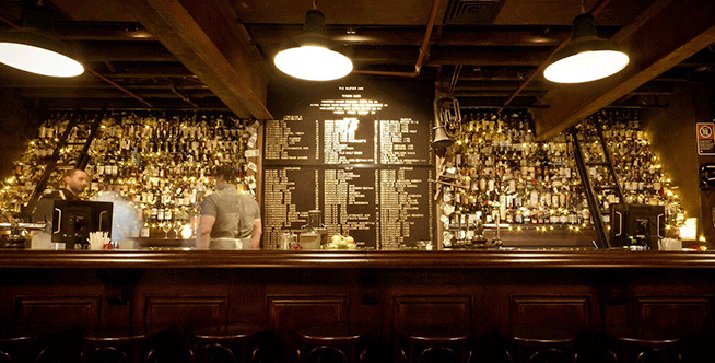 Top International Bourbon Bars