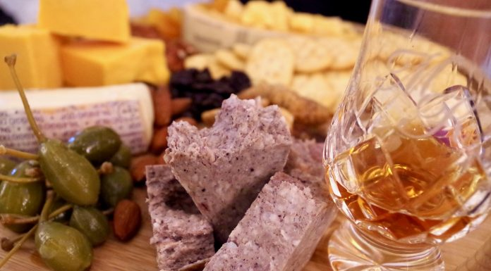 Bourbon and Cheese make for a great pairing. Photo by Maggie Kimberl.