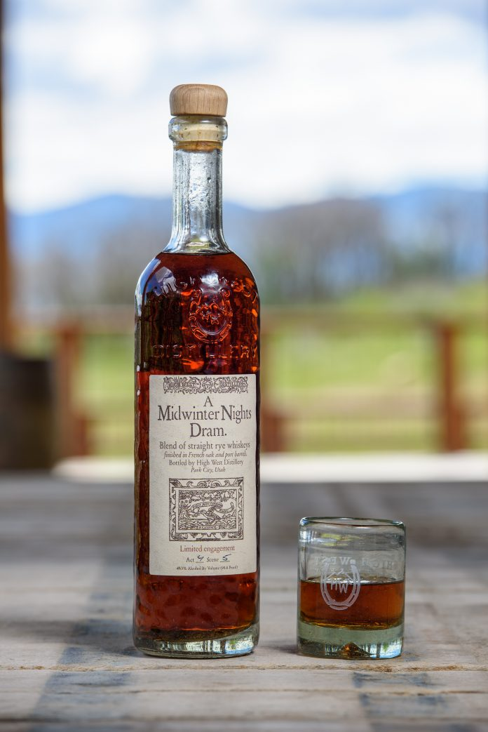 High West's Next Midwinter Night's Dram 2018