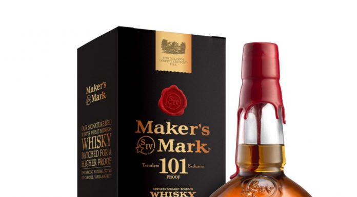 Maker's Mark 101, the first Travel Retail Exclusive from Maker's Mark Bourbon.