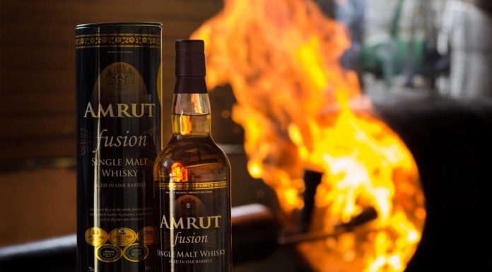 Amrut Fusion. Courtesy Amrut Indian Whisky.