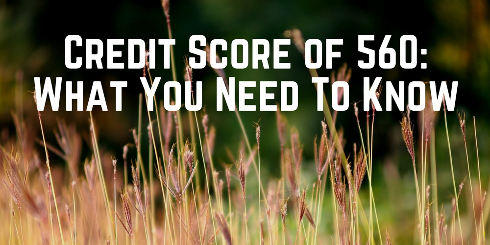 Credit Score of 560 What It Means For Loans  Credit Cards - Go